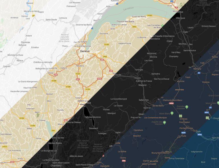 Personnalisez votre carte Google Maps